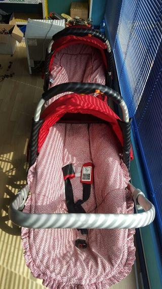 carrito gemelos