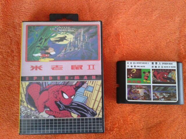Videojuego 4 Juegos Sega Megadrive 16bit 4en1 De Segunda Mano Por 9