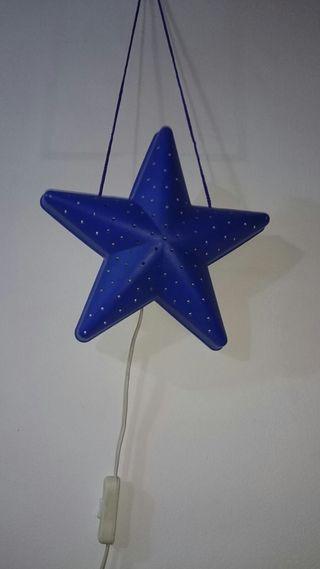 Lampara forma estrella