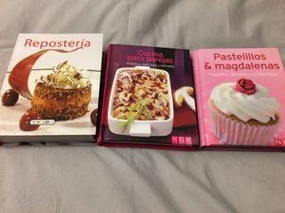 Libros tamaño mini de recetas
