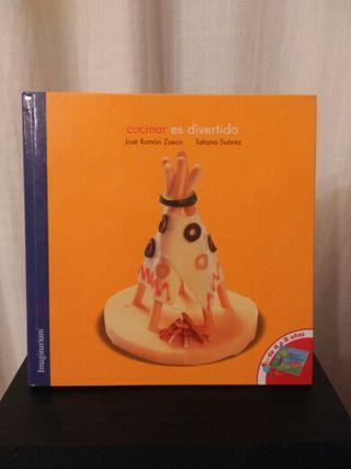 Pack de 2 libros de cocina para niños
