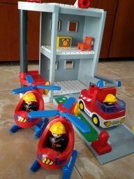 Parque de bomberos playmobil
