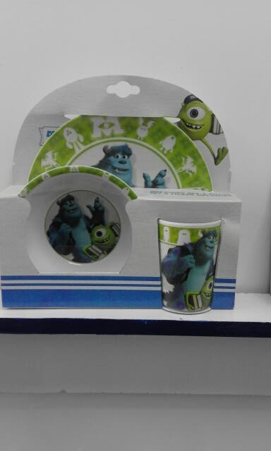 set desayuno monster university