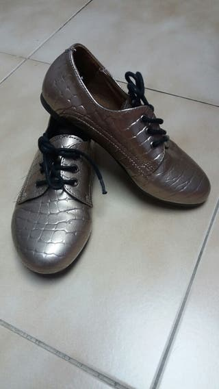 Zapato piel niña