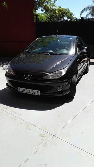 Peugeot 206 descapotable 1.6 gasolina