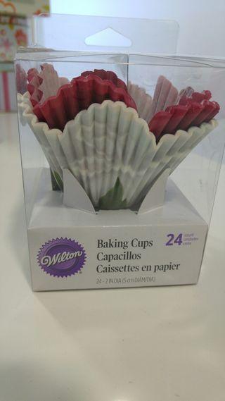 Cupcake molde flor