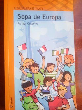 Libro Sopa de Europa. Rafael Ordoñez.