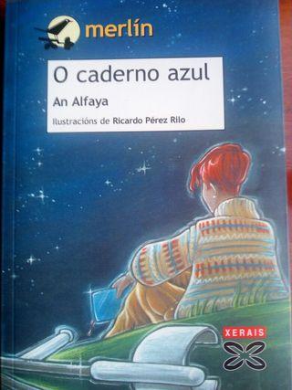 Libro O caderno azul. An Alfaya