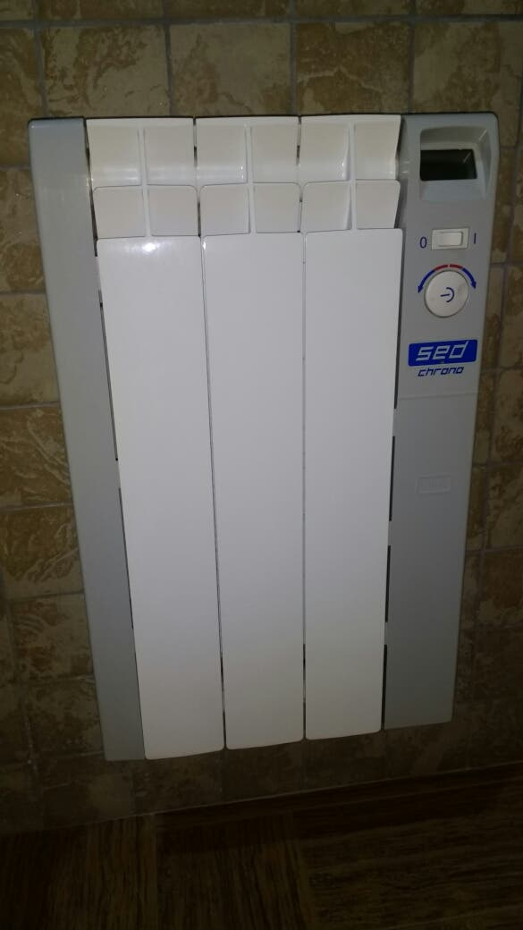 Radiador electrico radiadores calefacci n de segunda mano en lorca en wallapop - Radiadores de calefaccion de segunda mano ...