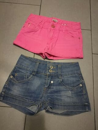 Pantalones cortos 9-10 años