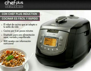 Robot de cocina Chef Plus Inducción