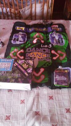 juego y manta de baile