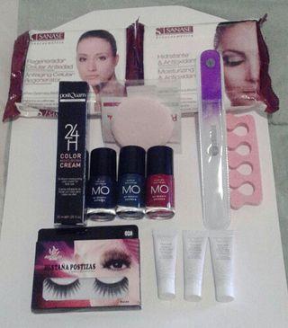 lote productos estética