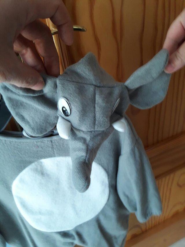 disfraz elefante 6 12 meses