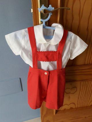 traje de niño un año