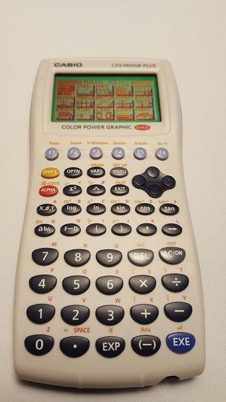 Calculadora Grafica a color CASIO CFX 9950GB PLUS
