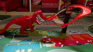 Dinosaurio Hot Wheels