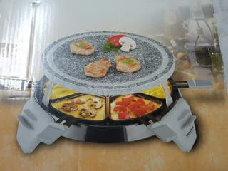 Grill-raclette piedra. Nuevo!!