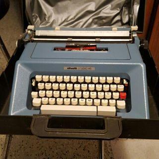 Vintage Máquina escribir olivetti