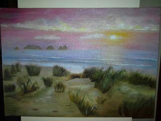 lienzo pintado al oleo 35x50cm.