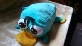 Peluche reversible Perry el ornitorrinco