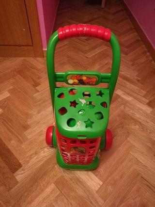 Cesta frutas juguete