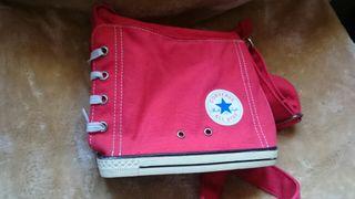 bolso Converse rojo