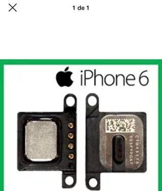 Auricular interno iphone 6