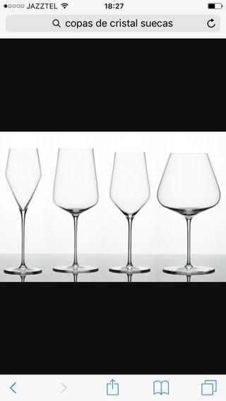 Cristaleria de mesa completa
