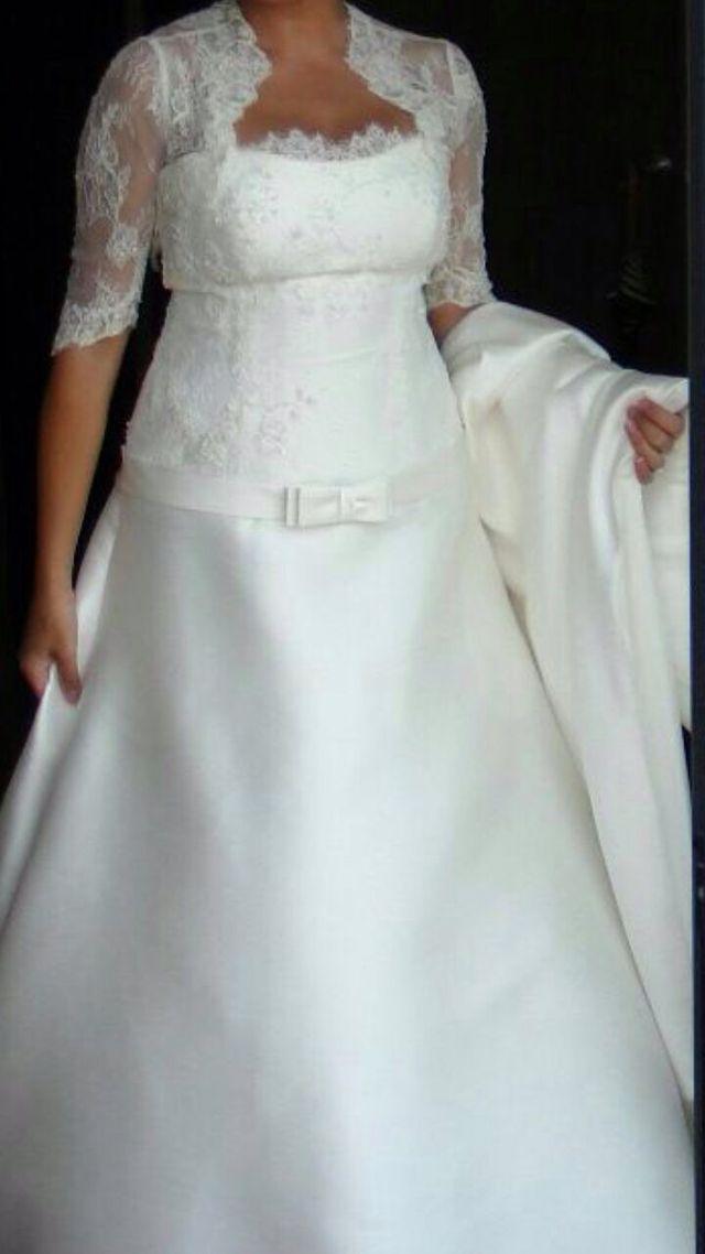 vestido de novia de segunda mano por 800 € en gines en wallapop