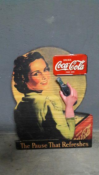 Cartel Cocacola