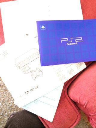 Consola playstation 2 instrucciones