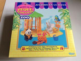 El Mundo De Las Peque Mascotas ZOO MB 1993