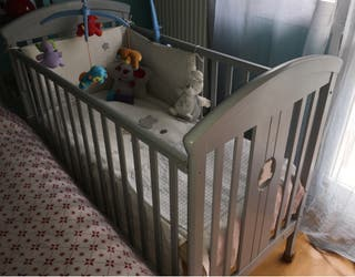 Cuna bebé madera escucho ofertas