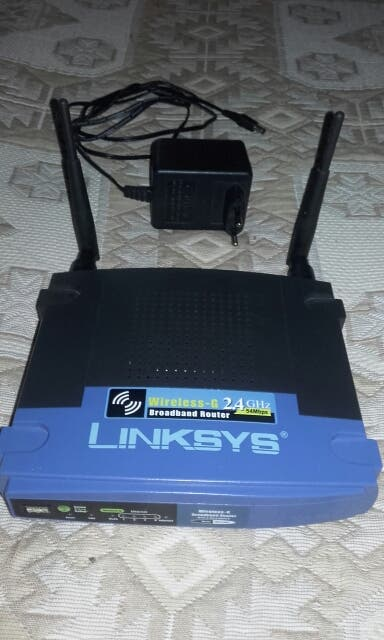 Router linksys wrt54gl v1.1