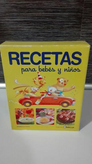 Libro recetas infantiles