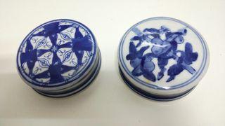 Cajas porcelana