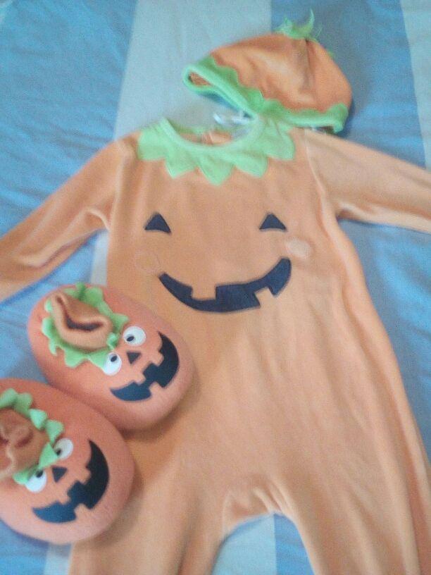 Disfraz Halloween bebé calabaza 23 meses