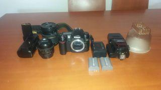Cámara réflex digital Nikon D80