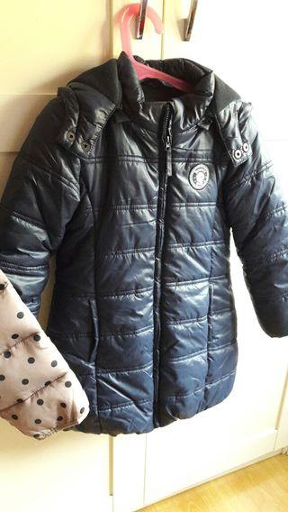 abrigo plumas talla 5
