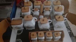 Botes de cerámica