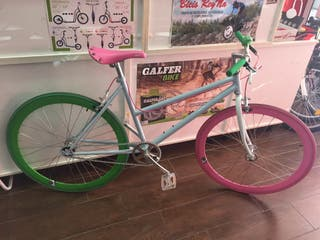 Bici fixie cuadro mixto