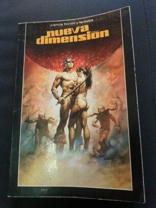 """libro de Ciencia ficción """"Nueva dimensión"""""""