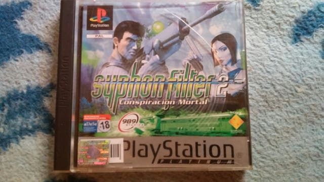 juego playstation 1. syphon filter 2.