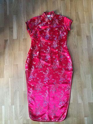 vestido china mujer