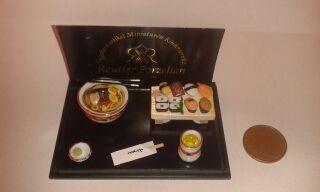 Miniatura sushi-set