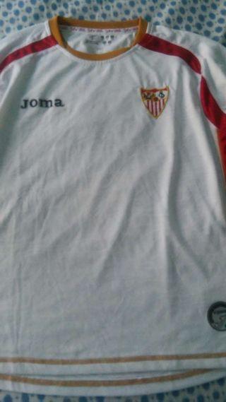 camiseta Sevilla t.10