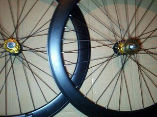 Llanta fixie rueda bici flip flop piñon fijo