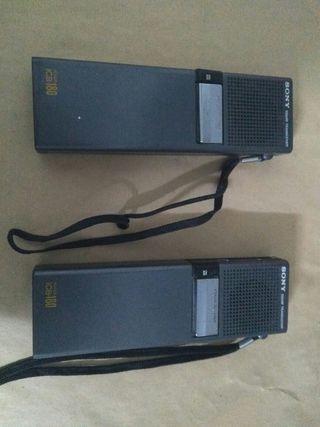 Walkie Talkie Sony ICB 180 1978