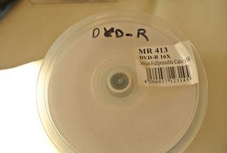 Dvd-R virgen imprimibles